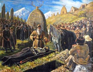 Фото: похоронный ритуал — интересные факты
