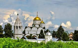 Фото: Покровский монастырь в Суздале