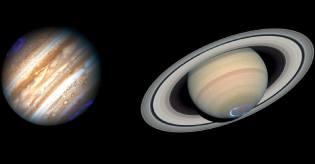 Фото: Юпитер и Сатурн — интересные факты