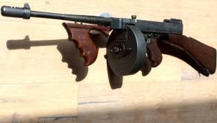 Фото: пистолет-пулемёт Томпсона, интересные факты