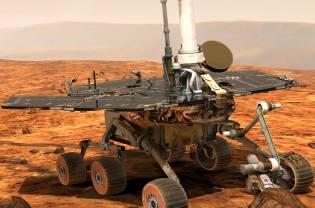 Фото: марсоход Spirit — интересные факты