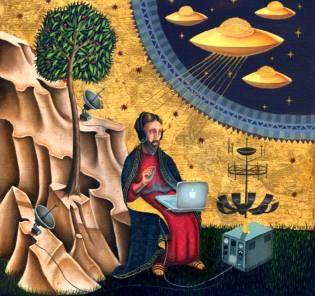 Фото: НЛО на фресках и иконах — интересные факты