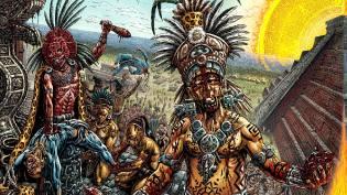 Фото: массовые жертвоприношения ацтеков
