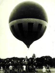 Фото: воздушный шар Виктория, интересные факты