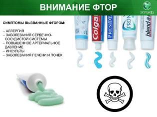 Фото: фтор в зубной пасте — интересные факты