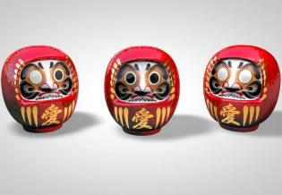 Фото: кукла дарума из Японии — интересные факты