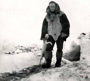 Фото: Ричард Бэрд в Антарктиде, интересные факты