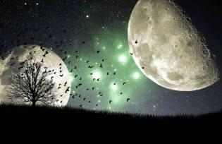 Фото: две Луны у Земли, интересные факты