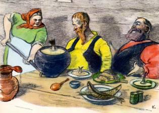 Фото: кулинарные пристрастия России