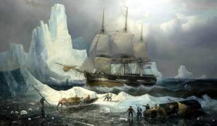 Фото: гибель экспедиция Франклина, интересные факты