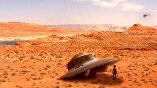 Фото: НЛО в пустыне Калахари, интересные факты