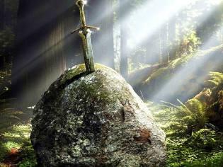 Фото: меч в камне — интересные факты