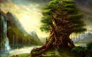 Фото: священные деревья — интересные факты