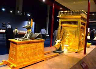 Фото: сокровища Тутанхамона, интересные факты