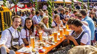 Фото: Октоберфест в Германии — интересные факты