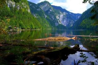 Фото: тайна озера Топлиц, интересные факты