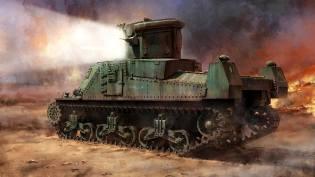 Фото: прожекторные танки CDL, интересные факты