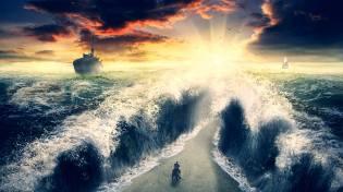 Фото: расхождение вод Моисея — интересные факты
