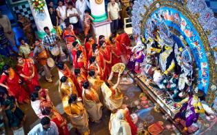 Фото: Дурга-пуджа — интересные факты