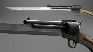 Фото: ганблэйд пистолета и клинка, интересные факты