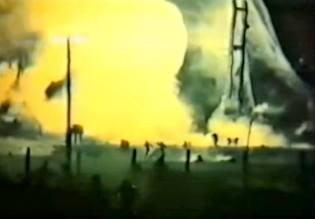 Фото: катастрофа на космодроме Плесецк