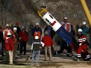 Фото: спасение шахтёров на шахте Сан-Хосе, интересные факты