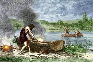 Фото: мореплаватели доисторической эпохи, интересные факты