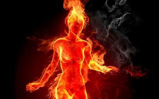 Фото: самовозгорание человека, интересные факты