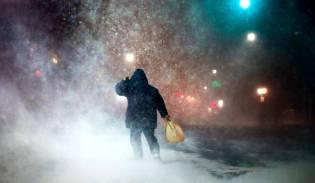 Фото: снежные бури — интересные факты