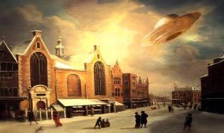Фото: НЛО в 19 веке — интересные факты