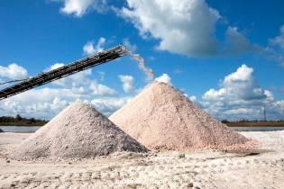 Фото: добыча соли, интересные факты