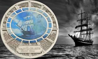 Фото: корабли-призраки на монетах, интересные факты