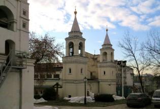 Фото: Иоанно-Предтеченский монастырь на Кулишках