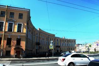 Фото: дом купца Устинова на Фонтанке