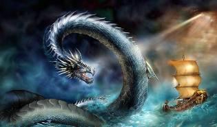 Фото: морской змей — интересные факты