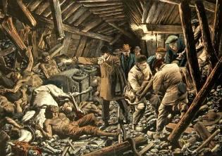 Фото: катастрофа в Куррьере — интересные факты