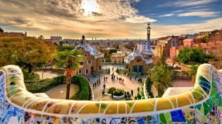 Фото: парк Гуэль в Барселоне, интересные факты