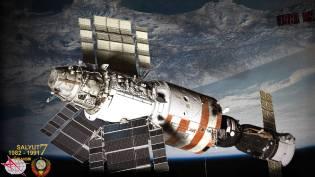 Фото: станция Салют-7 — интересные факты