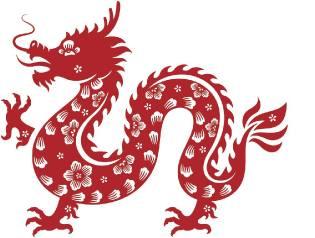 Фото: Дракон — восточный календарь