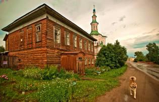 Фото: город Тотьма — интересные факты