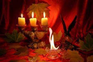 Фото: свеча — магические обряды