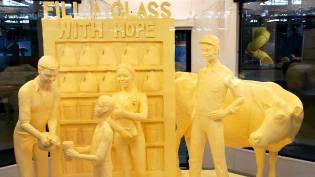 Фото: скульптуры из масла — интересные факты