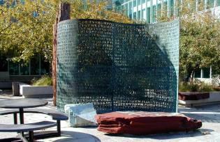 Фото: криптос — скульптура ЦРУ, интересные факты