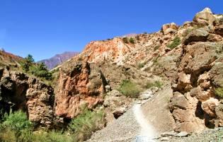 Фото: ущелье Шайтана в Таджикистане