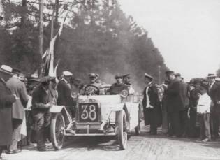 Фото: автопробег в России до революции, интересные факты