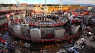Фото: Международный термоядерный реактор ИТЭР