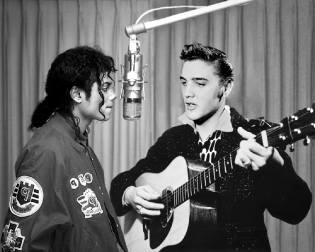Фото: Элвис Пресли и Майкл Джексон, интересные факты