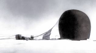 Фото: Саломон Андре — экспедиция на воздушном шаре