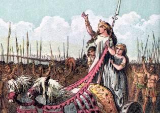 Фото: Боудикка — королева воинов, интересные факты