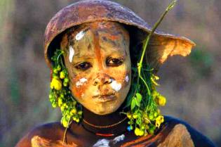 Фото: красота женщин диких племён, интересные факты